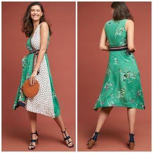 NWT, Anthropologie, Maeve Botanica Dress